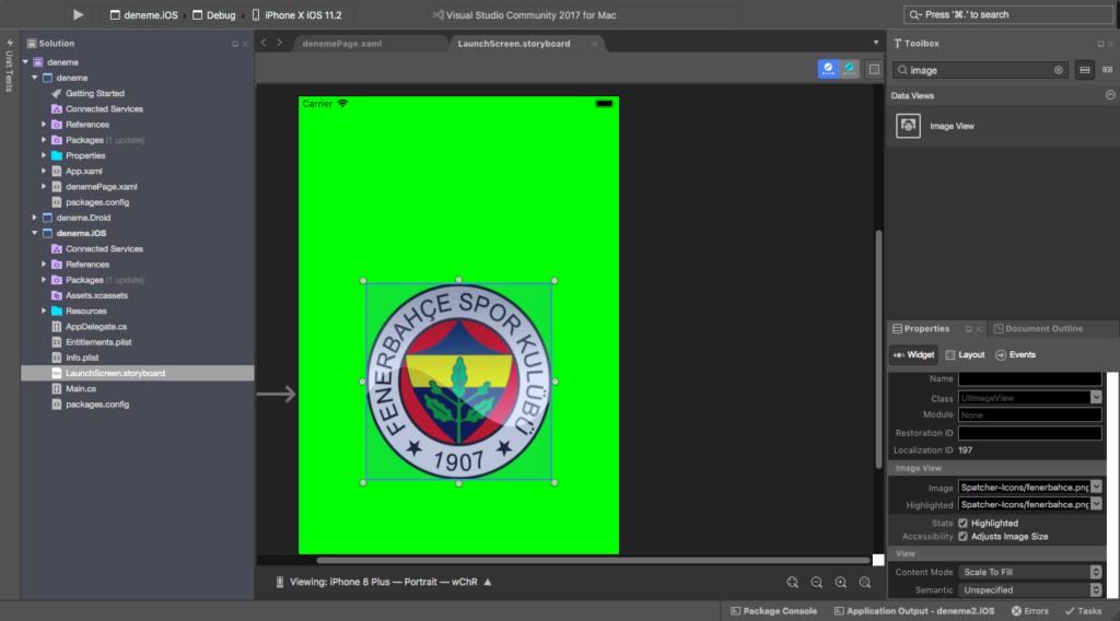 Xamarin iOS Launch Screen | Ömer Sezer